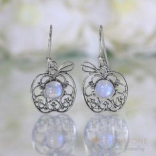 Moonstone Earring - FORBIDDEN FRUIT