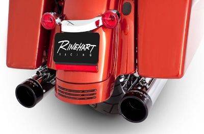 "Purchase RINEHART EXHAUST 4"" SLIP ON MUFFLERS 4 HARLEY TOURING 1995-2013 ULTRA GLIDE FLH motorcycle in Gambrills, Maryland, US, for US $494.95"