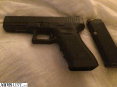 For Sale: Gen 3 Glock 22 w/ Trijicon night sites