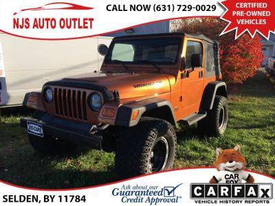 2002 Jeep Wrangler Sport (Amber Fire Pearl)