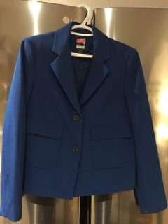 Royal blue blazer size 10. Dry cleaner tag still attached