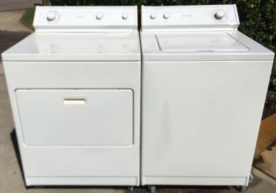 Whirlpool Heavy Duty Extra Large Capacity Electric Washer & Dryer