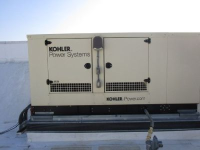 2013 Kohler Power Systems Outdoor Generator Set RTR# 9013045-01