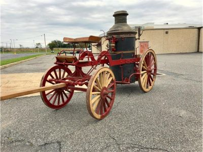 1890 American LaFrance Fire Engine