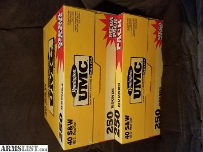 For Trade: 500 rounds of .40s&w