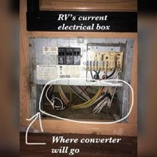 Help Wanted Replacing RV Converter Box