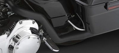 Buy Vance & Hines Dresser Duals Headers Black 95-08 Harley Davidson Touring motorcycle in Ashton, Illinois, US, for US $431.96