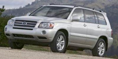 2006 Toyota Highlander Hybrid Base (Black)