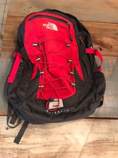 Red/Black Mens North Face Borealis Backpack