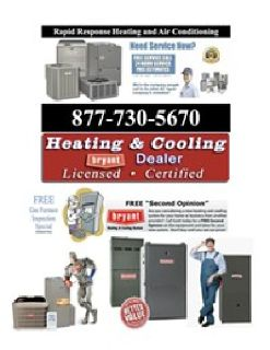 AIR Conditioning / Boiler and HEATING Furnace Repair FREE Estimates 24/7 Affordable Service Air Con