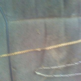 Mens Silver and gold chain
