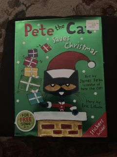 Pete the cat book like new