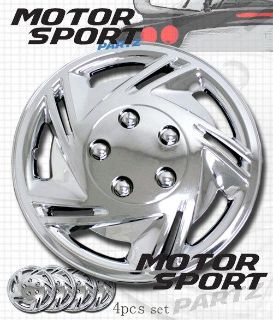 """Find 4pc Set 14 inch Chrome Rim Wheel Skin Cover Hubcap Style 602 Hub caps 14"""" Inches motorcycle in Walnut, California, US, for US $32.99"""
