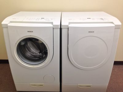 BOSCH Frontload Washer and Dryer