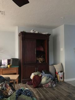 Free solid wood cabinet