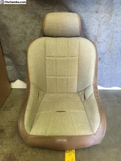 Race Trim suspension seat Tan pair New sold pairs