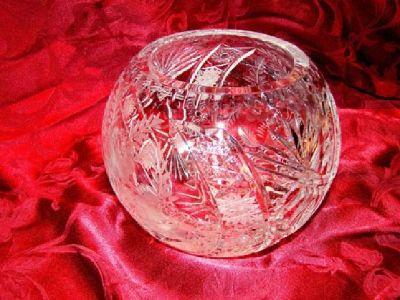 Waterford Crystal 8 Inch Diameter Rose Bowl