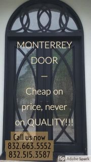 Monterrey Door / Iron Doors