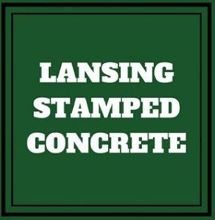 Lansing Stamped Concrete