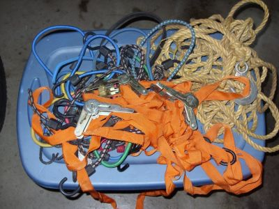 bungle cords and tie downs
