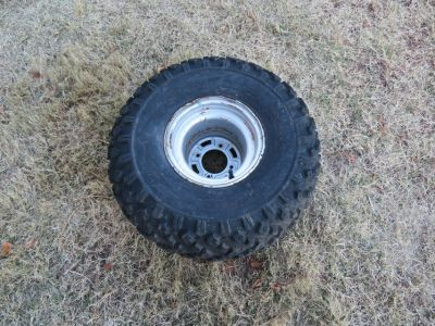 ATV tire with rim