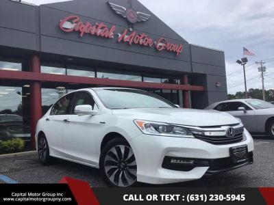 2017 Honda Accord Hybrid EX-L Sedan (White)