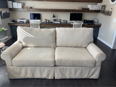lazyboy couch / small loveseat/ottoman