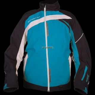 Sell Motorfist Mens Trophy Jacket - Black/Ocean/Gray motorcycle in Sauk Centre, Minnesota, United States, for US $349.99