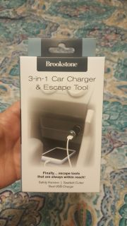 New Brookstone car charger