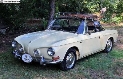 1967 VW Type 34 Karmann Ghia 1600 L
