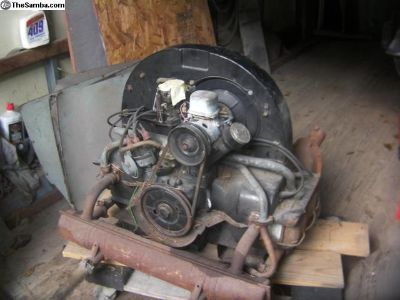 February 1962 complete 40 hp motor