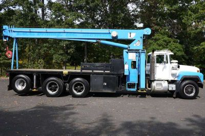 8803 - 1996 Mack Rd688s; Manitex 2284; 22 Ton Boom Crane Truck