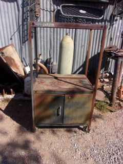 Antique 1960's Cool Patina TV Stand