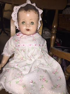 Very old composition doll