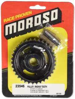 Moroso 23546 Dry Sump Pump Pulley