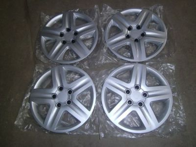Sell 2006-2011 Chevy Impala replica hubcaps 5 spoke silver motorcycle in Joliet, Illinois, United States, for US $75.00