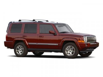 2009 Jeep Commander Limited (Stone White)