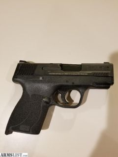 For Sale: S&W M&P Shield .45 (no thumb safety)
