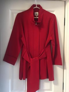 Pretty Red Coat large