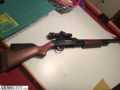 For Sale/Trade: Mossberg 500 12ga. Slug/bird barrel combo