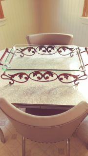 Large serving tray or decorative tray