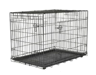 X-Large 2 Door Foldable Dog Crate