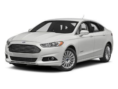 2015 Ford Fusion Hybrid Titanium (Black)