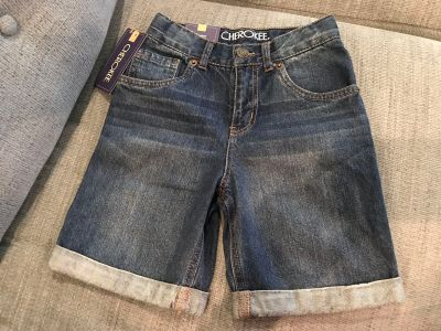 Cherokee boys shorts new! Size 6 new! 5 pocket Jean shorts