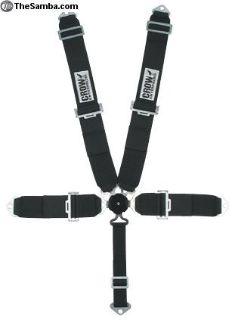 Seat belts- 5 way cam-lock drag race RLR
