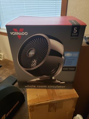 Barely used Vornado fan
