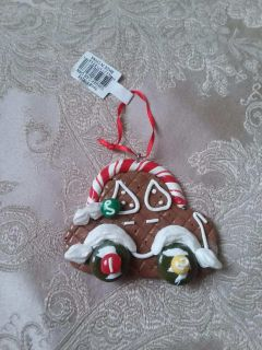 Christmas Gingerbread Car Ornament