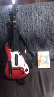 Wii Band Hero and Guitar