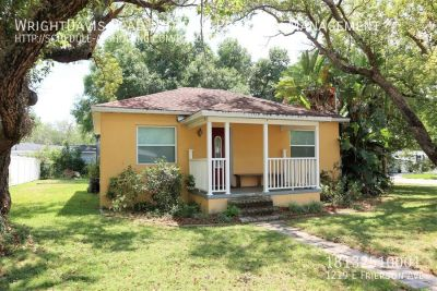 Seminole Heights offers this 2-bedroom and 1 bath!!!!