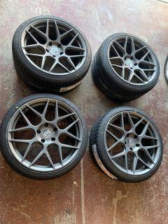 """20"""" HRE FF01 w/tires"""